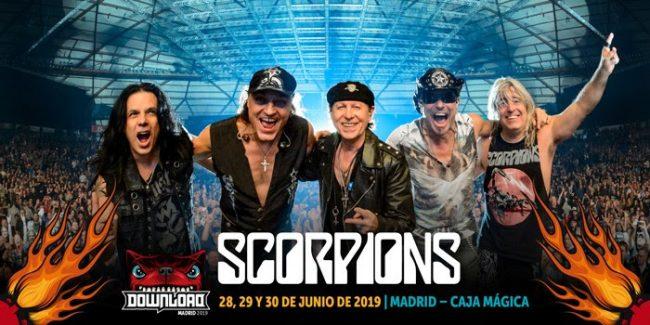 SCORPIONS al DOWNLOAD FESTIVAL MADRID 2019