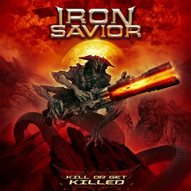 "IRON SAVIOR - Nuevo disco ""Kill or get killed"""
