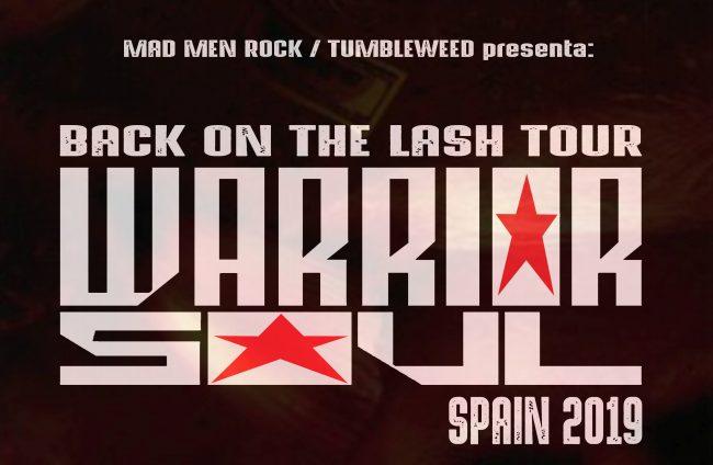 WARRIOR SOUL - Gira española 2019