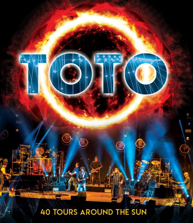 "TOTO - Nuevo disco en directo ""40 Tours around the sun"""