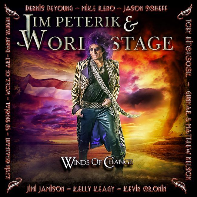 JIM PETERIK & WORLD STAGE regresa con nuevo álbum