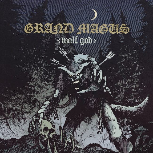 GRAND MAGUS – Wolf God (2019) review