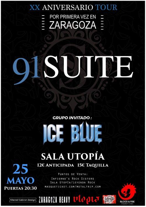 91 SUITE / ICE BLUE en concierto!