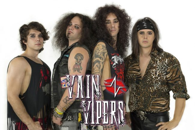 VAIN VIPERS - Glam Rock desde Italia