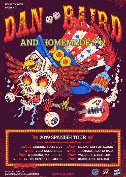 DAN BAIRD AND HOMEMADE SIN - Gira española 2019