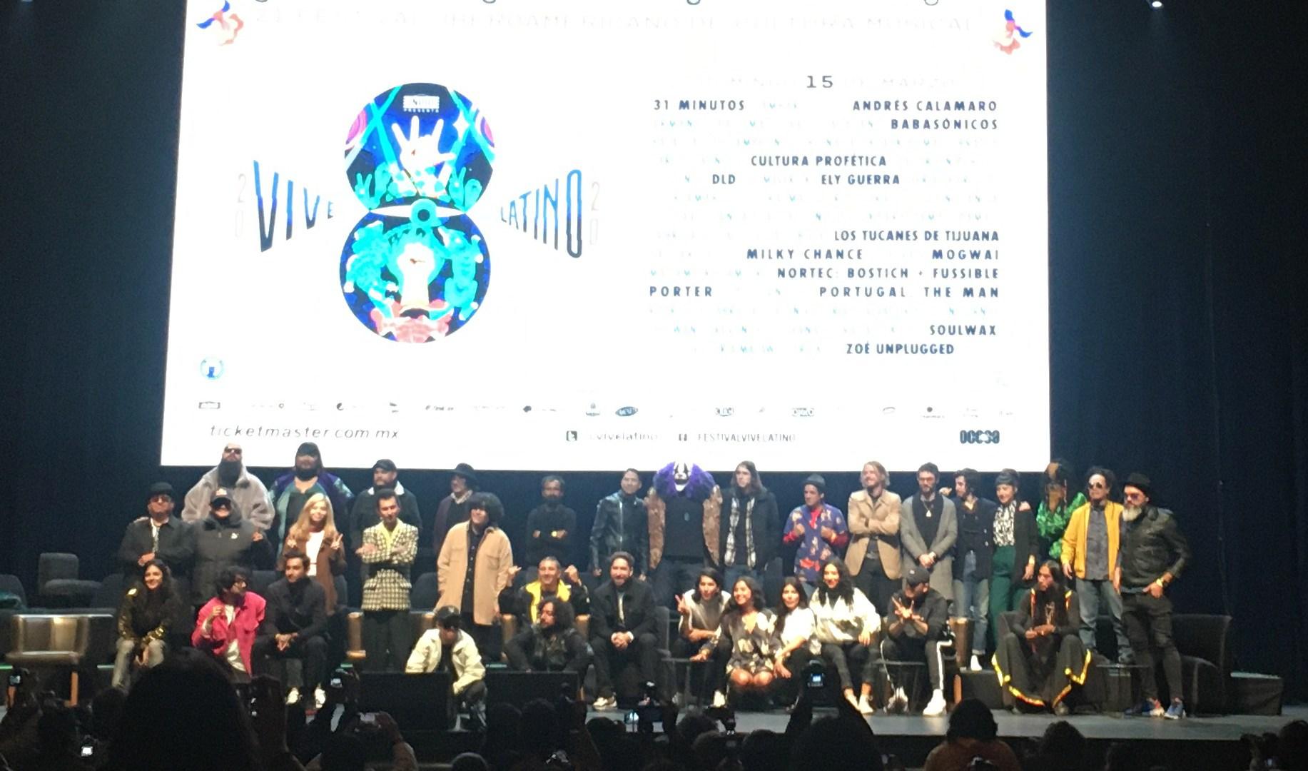 Sustentable, nuevo lema del Vive Latino