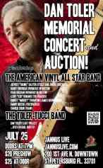 American Vinyl All Stars performed at Janus Live to raise money for Dan Toler's (Allman Brothers) family.