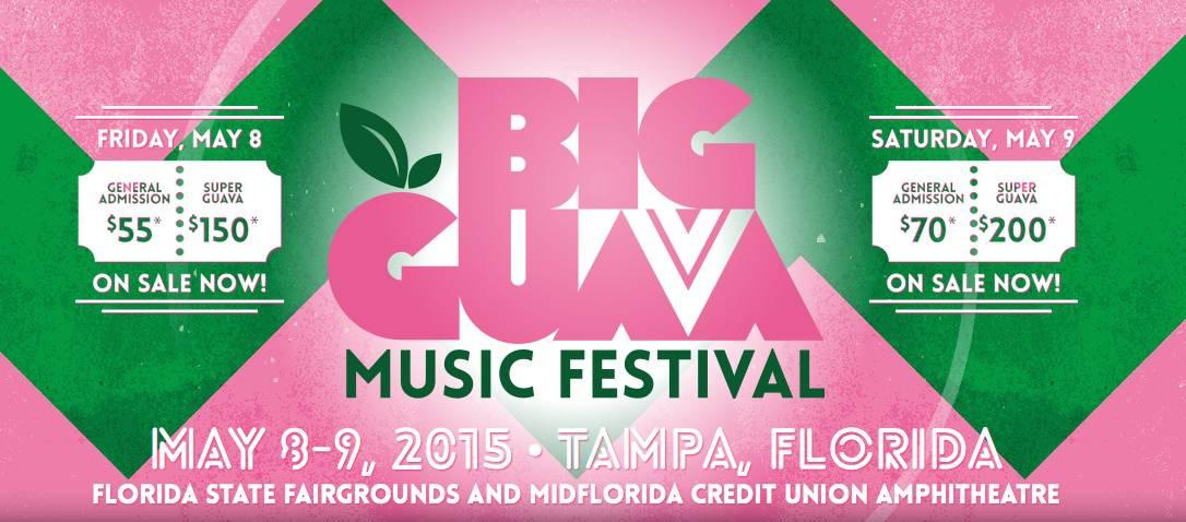 Big Guava Music Fest Singleday Lineups Announced And Singleday - 8 great florida music festivals