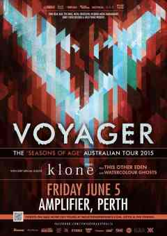 Voyager Tour Poster