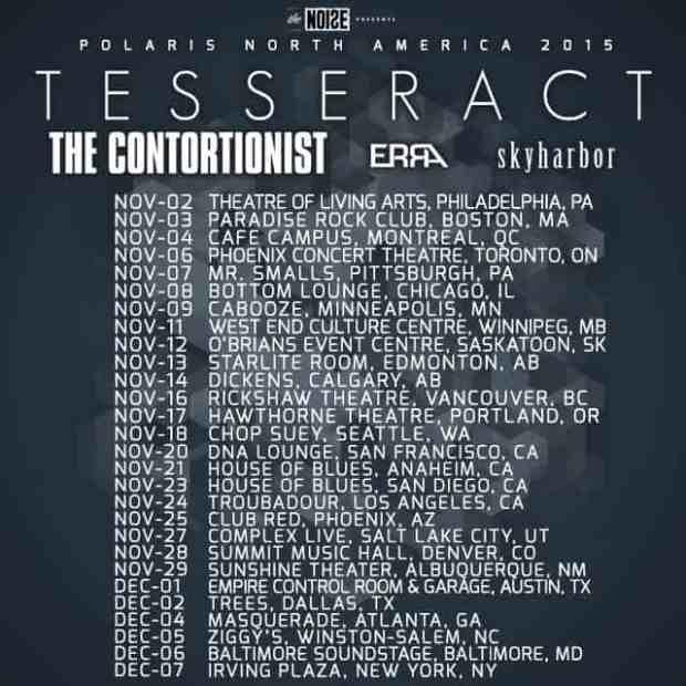 Tesseract Tour Poster