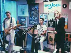 At Buffalo, New York 107.7 FM (Alt Radio)