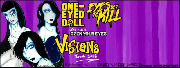 One-Eyed Doll Tour Poster