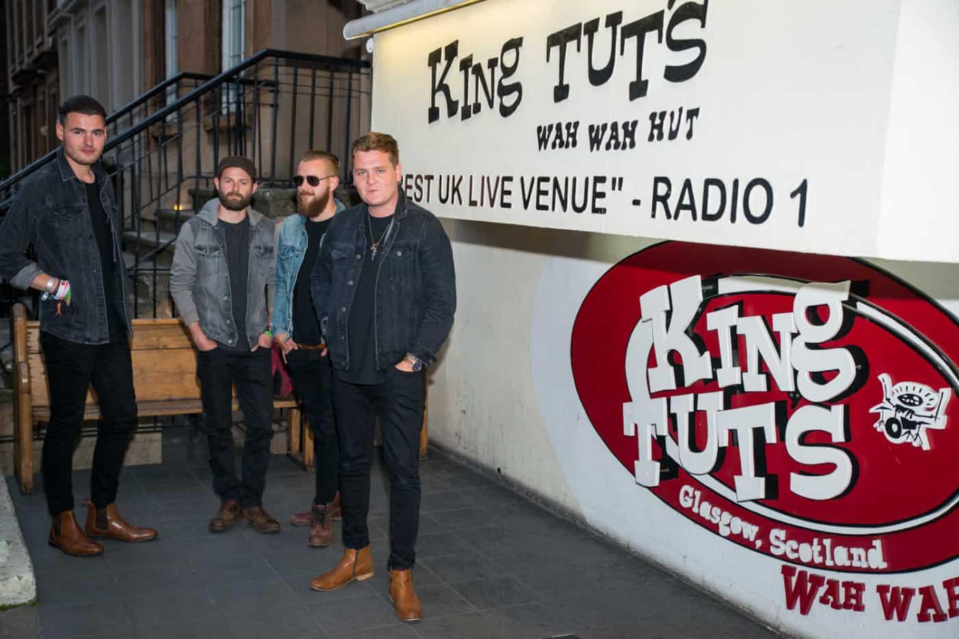 Broken Witt Rebels at King Tuts, Glasgow–Photo by Martin Bone