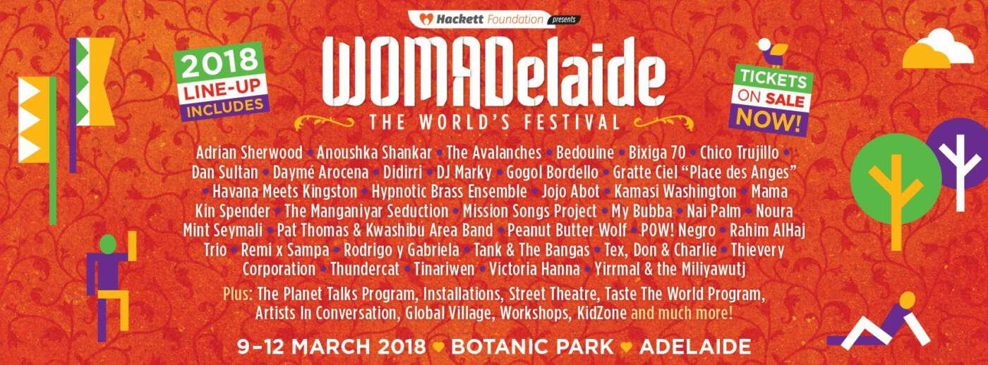 Womadelaide lineup poster