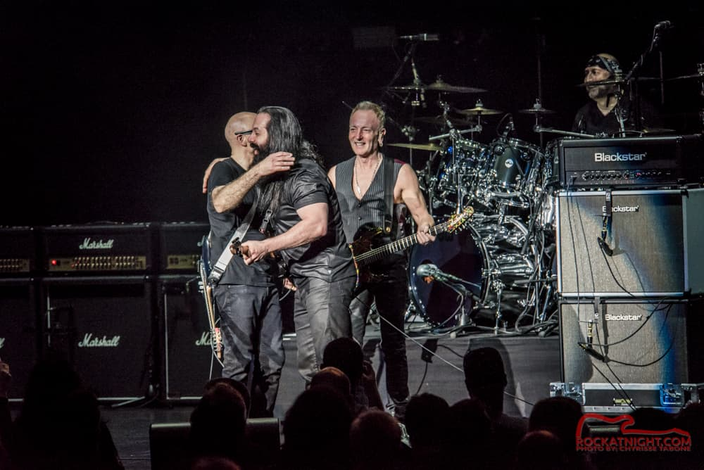 Joe Satriani, John Petrucci, and Phil Collen