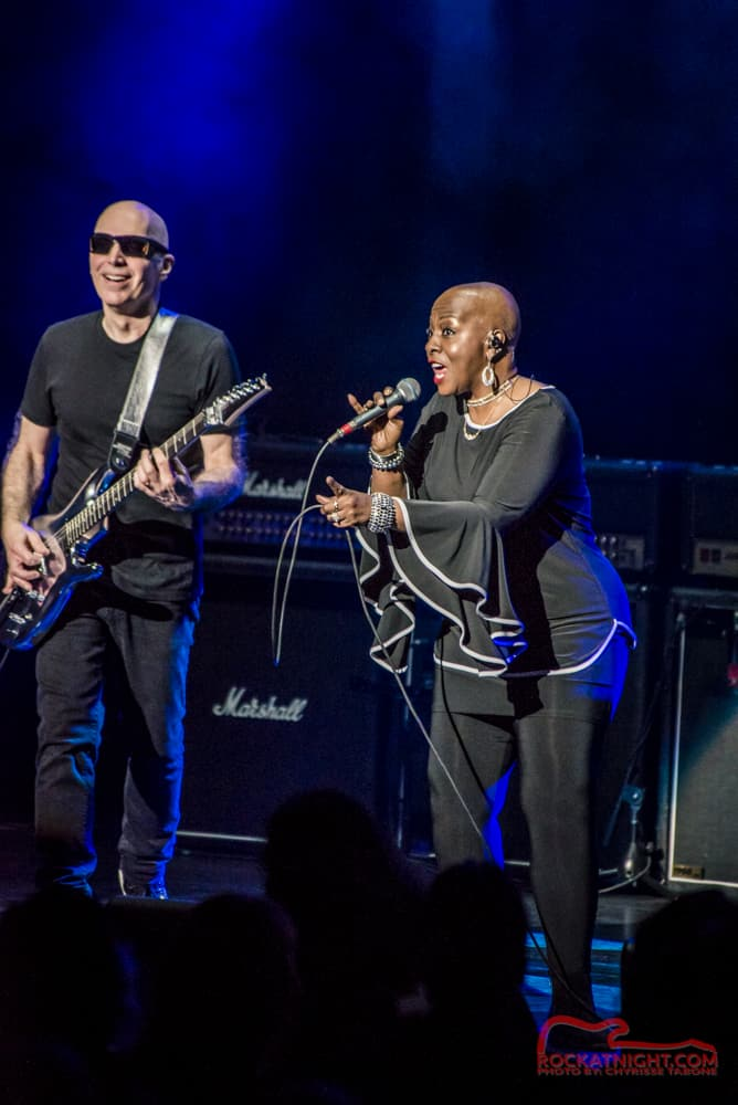 Joe Satriani and Debbi Blackwell-Cook