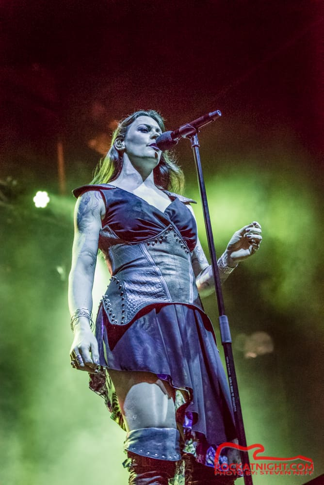 Floor Jansen of Nightwish
