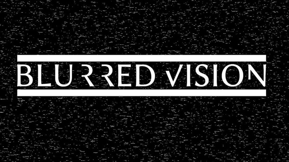 Blurred Vision Rock At Night