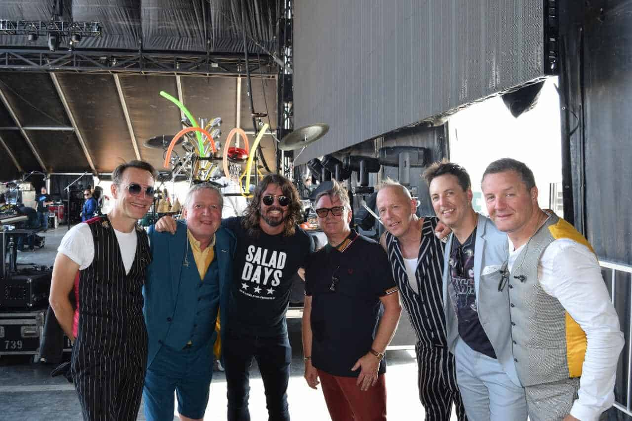 Squeeze and Dave Grohl