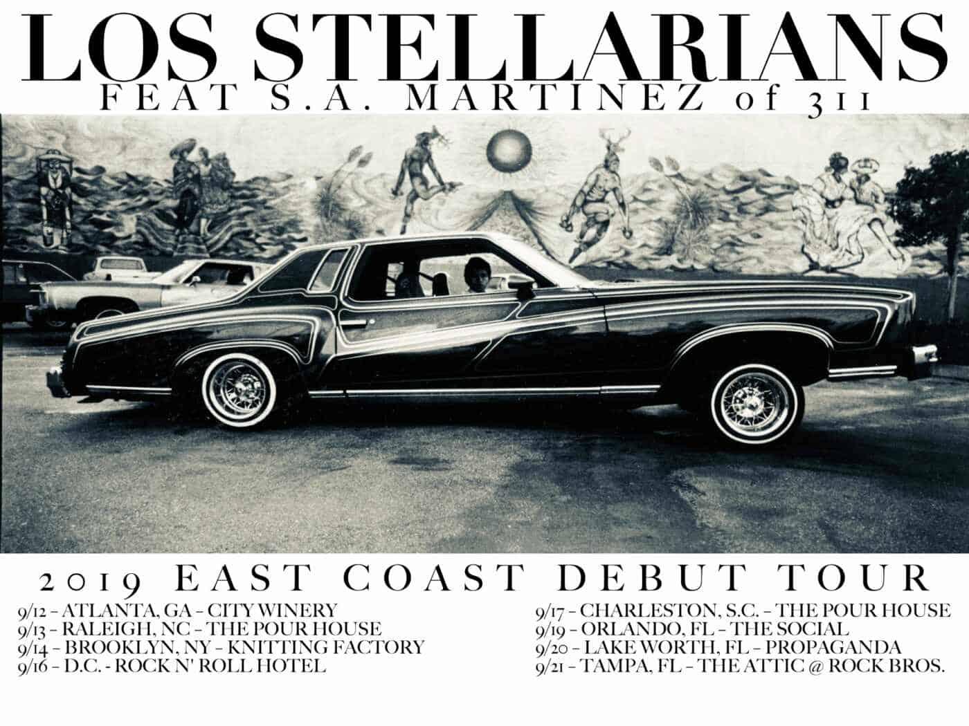 Tour Los Stellarians