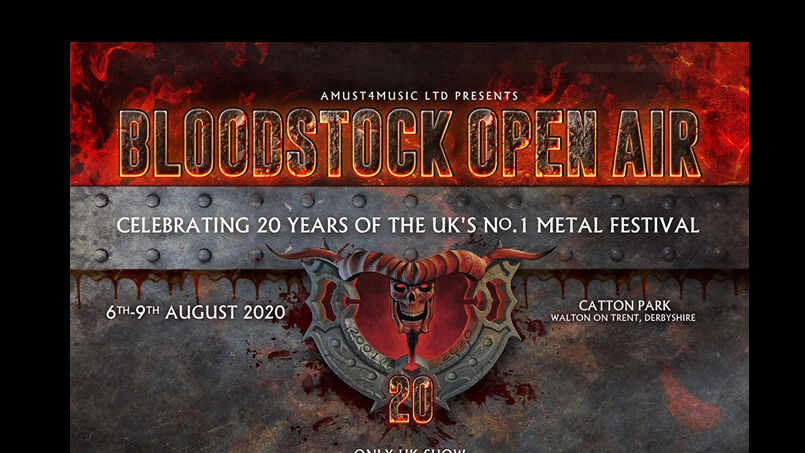 Bloodstock Rock At Night cover