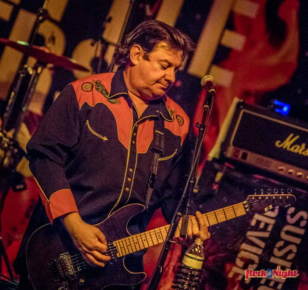 Jake Burns of Stiff Little Fingers