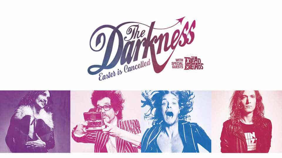 The Darkness North American Tour Cover