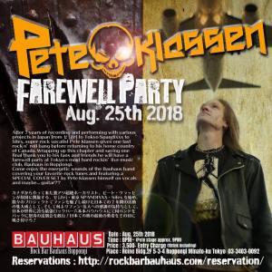 Pete Klassen Farewell Party