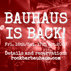 COVID19 Update: Bauhaus is reopening on 16th October 2020!