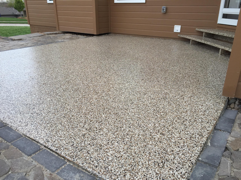 rock bottom concrete finishing