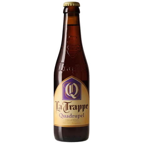 La Trappe Quadruppel (Estilo: Belgian Quadrupel / Teor Alcoólico: 10% / Cervejaria: De Koningshoeven / País: Holanda) Preferência do Guilherme