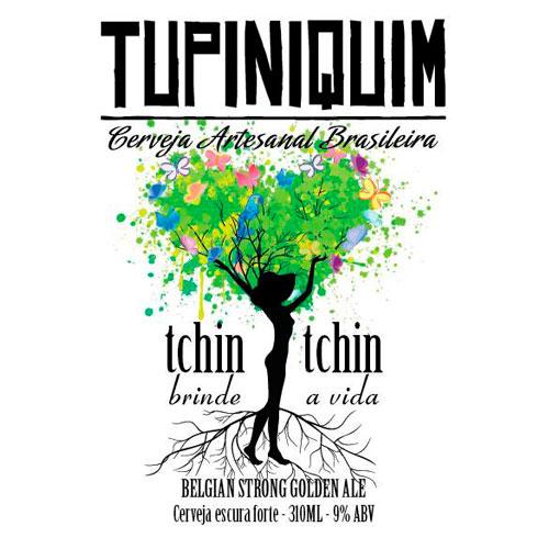 Tchin Tchin (Estilo: Belgian Strong Golden Ale / ABV: 9% / Cervejaria: Tupiniquin - Dama Bier / País: Brasil)