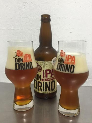 Don IPADrino (Estilo: IPA / ABV: 6,9% / Cervejaria: Mafiosa / País: Brasil)