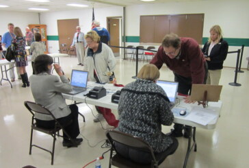 Turnout steady at county and city polls