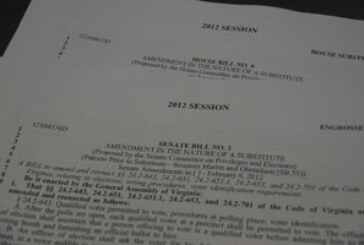 Legislators send voter ID bill to governor