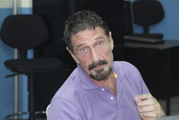 McAfee arrested and denied asylum in Guatemala