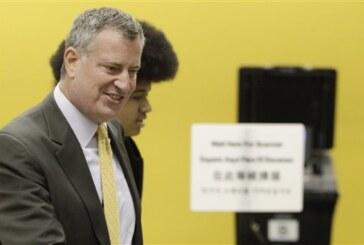 De Blasio becomes mayor of New York City