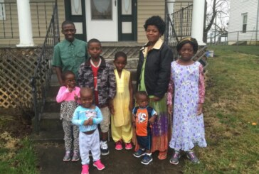 Congolese family of eight finds new home in Lexington