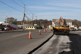 BV's repaving causes speed bumps for merchants