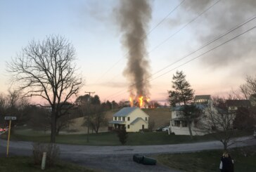 Early-morning blaze destroys W&L off-campus house