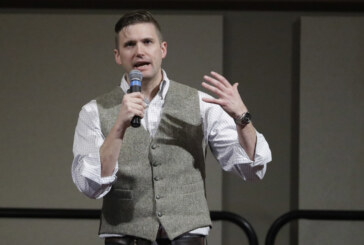 White nationalist speaks at Florida university amid outrage, protests