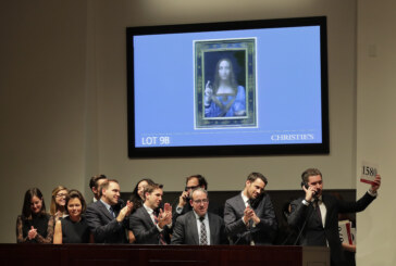 'Leonardo da Vinci' painting sells for record $450M
