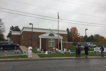 Voters didn't let Tuesday's weather rain on their parade