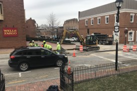 Lexington businesses complain about construction