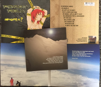 forest field - angels - cd
