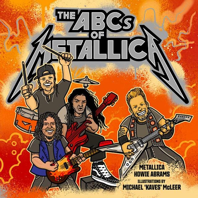 Metallica lança livro infantil ilustrado