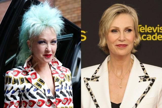 Cyndi Lauper e Jane Lynch atuarão juntas em nova serie da Netflix
