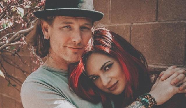 Corey Taylor e sua esposa Alicia estão trabalhando juntos em um novo projeto