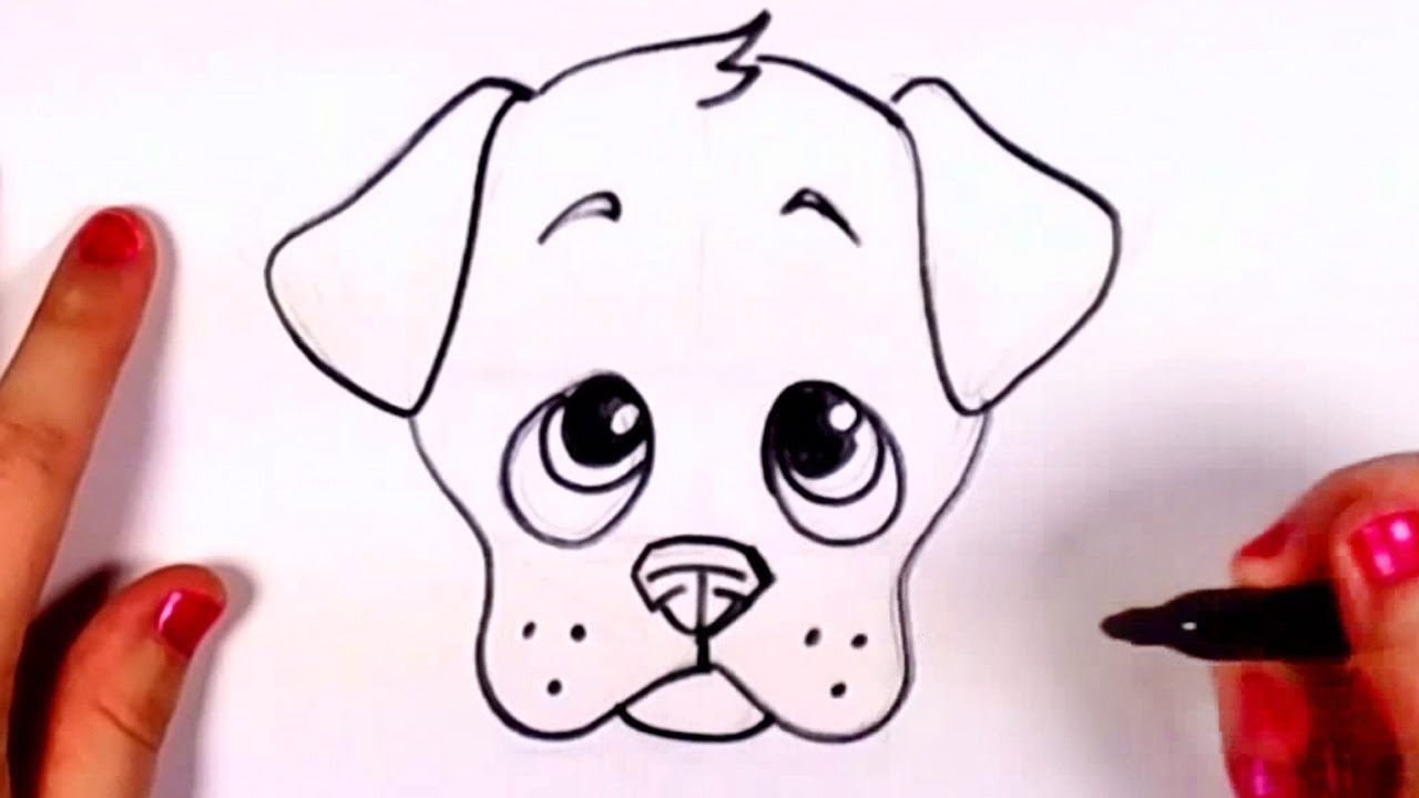 How to draw a realistic dog step by step for beginners slow and easy video tutorial