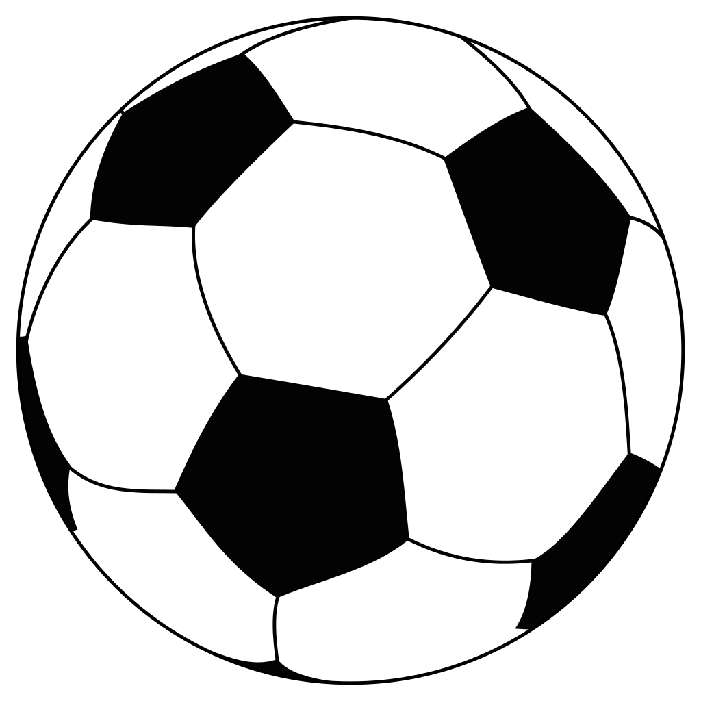 drawing of a football